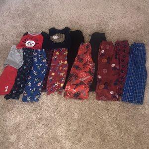 Boy Lot Pajamas Sizes 4 & 5